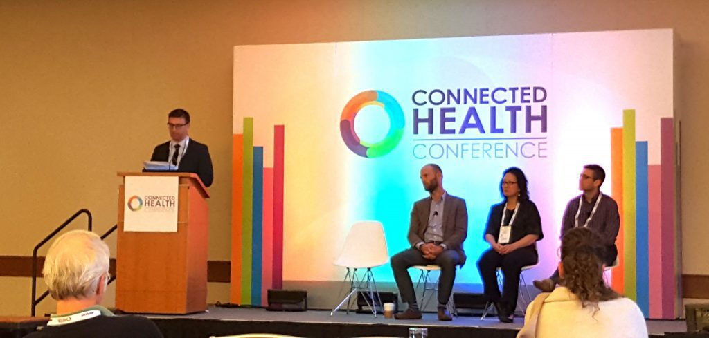 Panel at Connected Health Conference