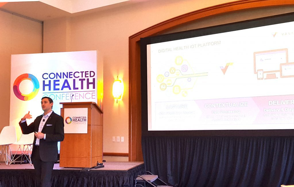 Speaker from Validic at Connected Health Conference